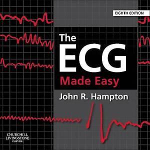 The ECG Made Easy by John Hampton (Paperback, 2013)