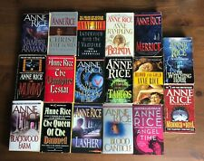 Lot 17 ANNE RICE Novels VAMPIRE CHRONICLES 1-10 Mayfair Witches 1-3 Angel Time