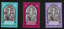 Barbuda Scott #33-35, Singles 1969 Complete Set FVF MNH