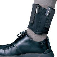 Desantis N81BJZZZ0 Black Neoprene Double Ankle Magazine Pouch for 9mm/.40
