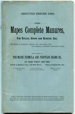 Various / Unknown: The Mapes Complete Manures, for Special Crops and General Use