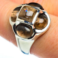 Smoky Quartz 925 Sterling Silver Ring Size 8.75 Ana Co Jewelry R46475F