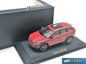 Volvo XC60 flamenco red Norev 870020 1:43