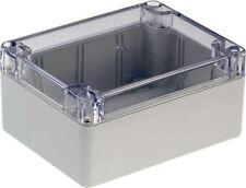 RND Components Plastic enclosure 115 x 90 x 55mm Light Grey PC IP65