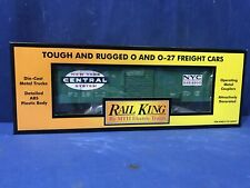 Rail King MTH New York Central Boxcar 30-7476 FREE SHIPPING O SCALE TRAINS