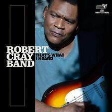 ROBERT CRAY BAND That's What I Heard ( Neues Album 2020 Digipak )  CD NEU & OVP