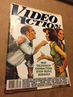 RARE VIDEO ACTION MAGAZINE - JANUARY 1981 - NO LABEL - FREE SHIPPING