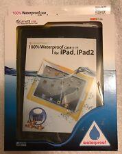 DiPac 100% Waterproof Case For iPad & iPad 2 Yellow (For iPad 1,2,3)