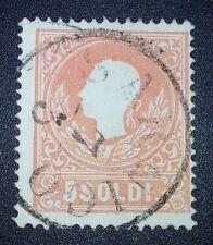 Antichi Stati lombardo veneto 5 soldi 1858 Sarnico 8 pt
