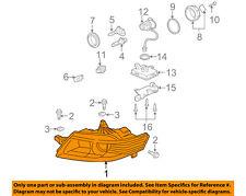 Acura HONDA OEM 04-05 TL-Headlight Head Light Headlamp 33151SEPA02