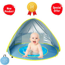 Monobloc Baby Beach Tent PopUp Portable Shade Pool Sun Uv Protection For Infant