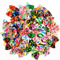 New Spring Puppy Dog Hair Bows Cute Dog Small Bows Hair Accessories Pet Supplies