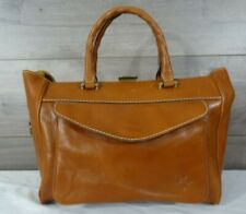 Patricia Nash Women's Brown Nieve Box Satchel Handbag Purse Tote