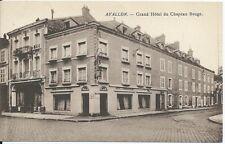 CPA 89 - AVALLON - Grand Hôtel du Chapeau Rouge