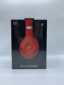 Beats by Dr. Dre Studio3 Authentic Headband Wireless Headphones - Red