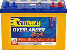 CENTURY N70ZZLXHD OVERLANDER 4X4 BATTERY DUAL PURPOSE QUALITY AUSTRALIAN MADE 24