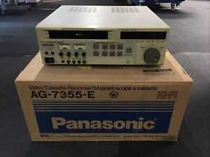 PANASONIC AG-7355 Professional SVHS-Videorecorder PAL inkl. OVP - vom Händler