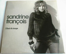 "EUROVISION : SANDRINE FRANÇOIS - PROMO SINGLE CD ""IL FAUT DU TEMPS"" - NEW - NEUF"