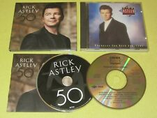 Rick Astley 50 & Whenever You Need Somebody 2 CD Albums ft Never Gonna Give You