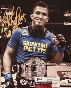 Anthony Pettis 8x10 Autographed Photo Signed JSA COA 302 UFC MMA