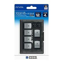 Slim card case 12+4 for PlayStation Vita black HORI Sony PS Vita Japan