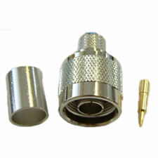 N - Type Male Connector For RG8 Coaxial Cable