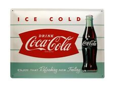 Nostalgic-Art 23191 Coca-cola Diner Bottle Blechschild 30 X 40 Cm