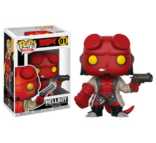 Funko Pop! Comics 01 Hellboy with Jacket Pop Vinyl Figure FU22715