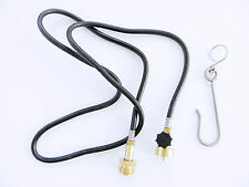 5 FOOT TORCH GAS TANK EXTENSION HOSE WITH CONNECTORS