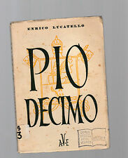 pio decimo - enrico lucatello -  1935