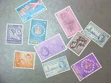 10 Different Seychelles Stamp Collection - Lot