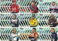 2002 Trackside RUNNIN N' GUNNIN Complete 9 card set BV$25! Jr., Gordon, Stewart