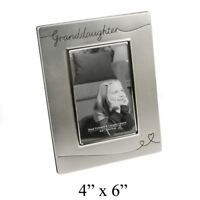 "Granddaughter Potrait Photo Frame 4x6"" NEW"