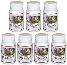DELAY 7x Performance Enhancement Increase Stamina Prolong Intimacy Endurance