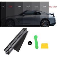 Black 1% VLT Car Window Tint Film Tinting Roll UV-Proof Scratch Resistant I9Z