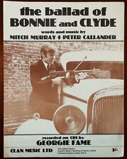 Georgie Fame The Ballad Of Bonnie and Clyde 1967