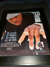 MA$E Harlem World Rare Original Promo Poster Ad Framed!