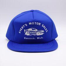 b6ee12f33dc Full Foam lined trucker hat - Evert s Motor Sales - Hancock MI - Snapback  cap
