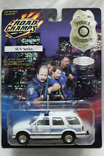 Road Champs 1:43 Scale 2000 CHEVROLET BLAZER WALDRON POLICE