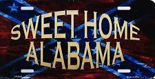 PLAQUE DE VOITURE AMERICAINE- SWEET HOME ALABAMA -NEUVE  DECORATION USA/ BIKER