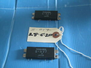 x2 Toshiba S-AV7 Module PA Module Used  (Reference 28/06/2020)
