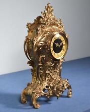 *Vintage Rococo Bronze Clock w/German Kienzle Clock Works
