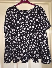 South Floral Top Size 18