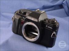 Black Minolta X-300s 35mm Film Camera Body - VGC - 9929