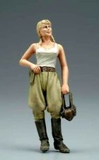1:35 WWII Tank Crew Girl Female Russian Soviet Red Army Resin Scale Woman Figure