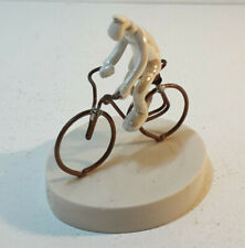 Andrew Bull Porcelain Man on Bike