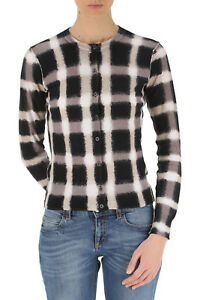 Marc by Marc Jacobs Cardigan a quadretti, Blurred gingham print sweaters SIZE S