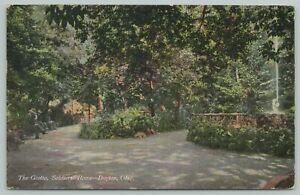 Dayton Ohio~Soldiers Home Grotto~c1910 Postcard