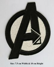 Avenger Uniform Marvel Shield Embroidered Iron on / Sew on Patch Movie Comics