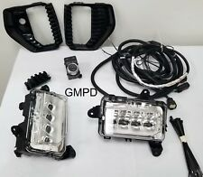 2019-2020 New Gen. Sierra GM Fog Lamp Light Kit 84822219 WITH TASK LIGHTING OEM